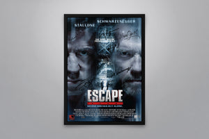 Escape Plan - Signed Poster + COA