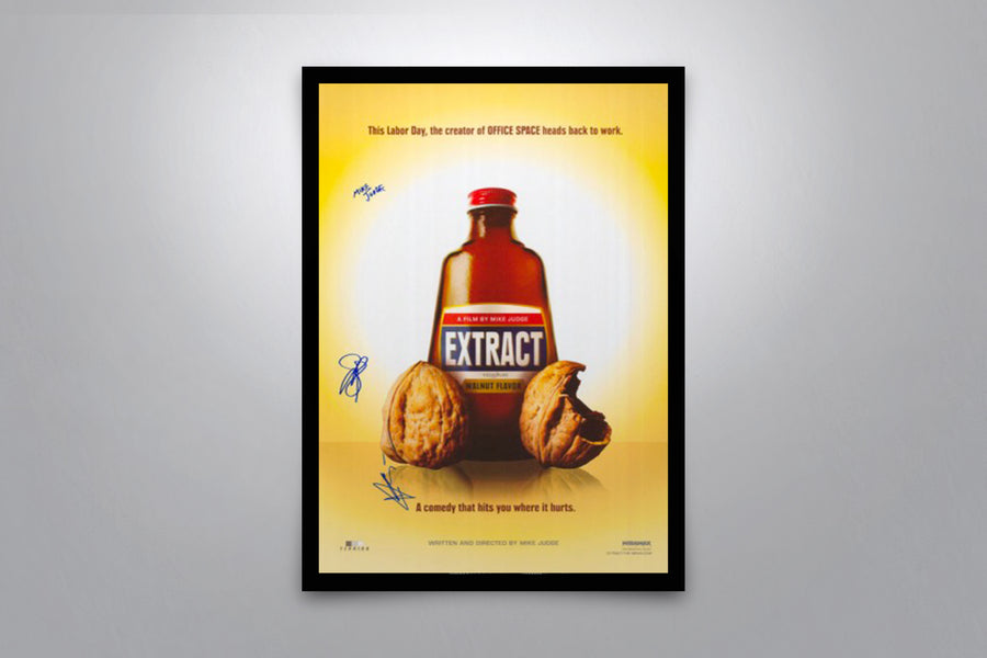 Extract - Signed Poster + COA