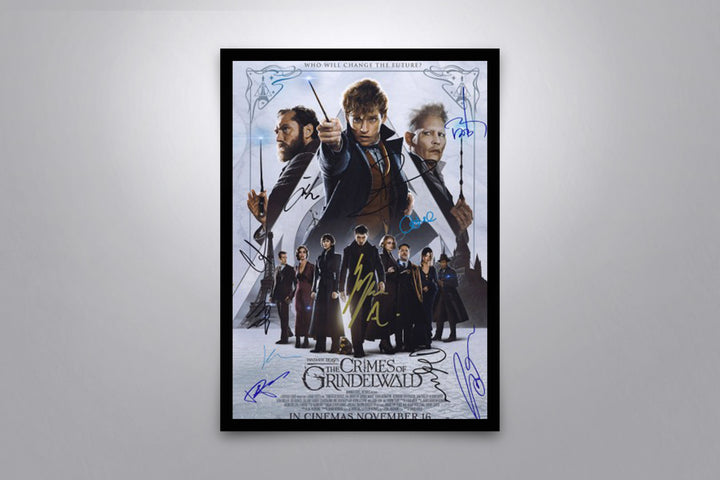 Fantastic Beasts: The Crimes of Grindelwald - Signed Poster + COA