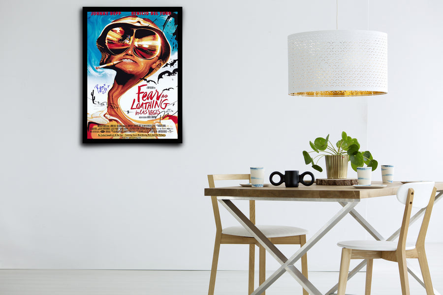 Fear and Loathing in Las Vegas - Signed Poster + COA