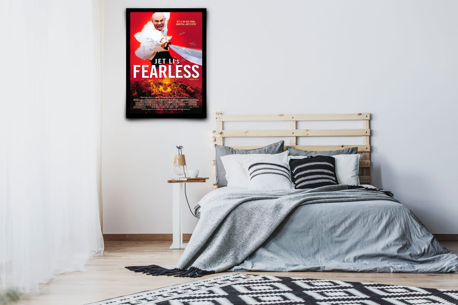 Fearless - Signed Poster + COA