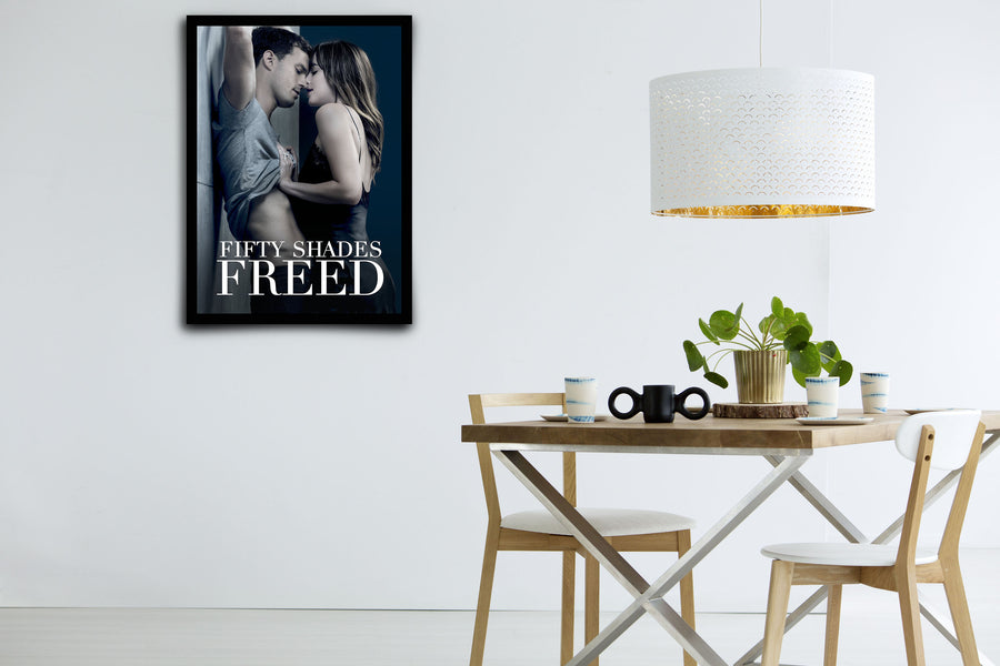 Fifty Shades Freed - Signed Poster + COA