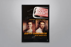 Fight Club - Signed Poster + COA
