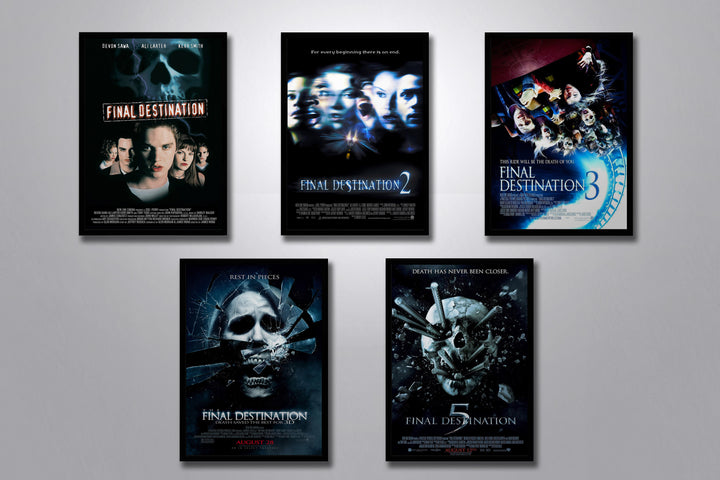 Final Destination Autographed Poster Collection