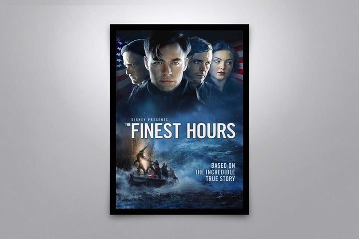 The Finest Hours - Signed Poster + COA