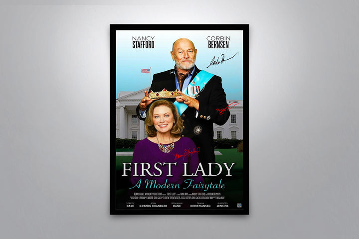 First Lady - Signed Poster + COA