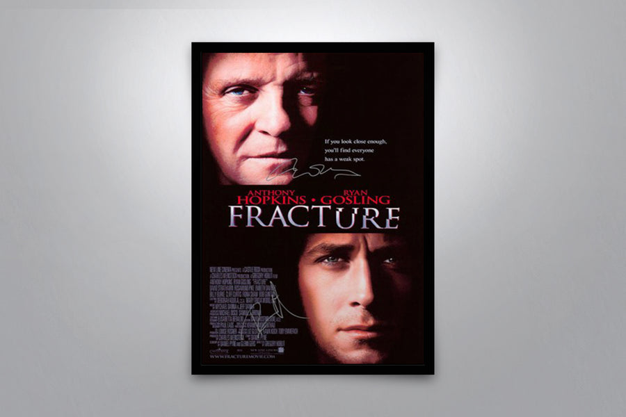 Fracture - Signed Poster + COA