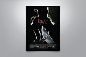 Freddy vs. Jason - Signed Poster + COA
