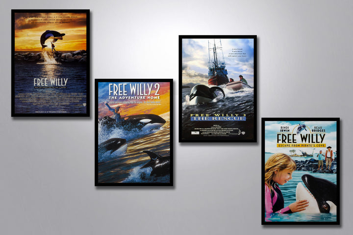 Free Willy Complete Poster Collection