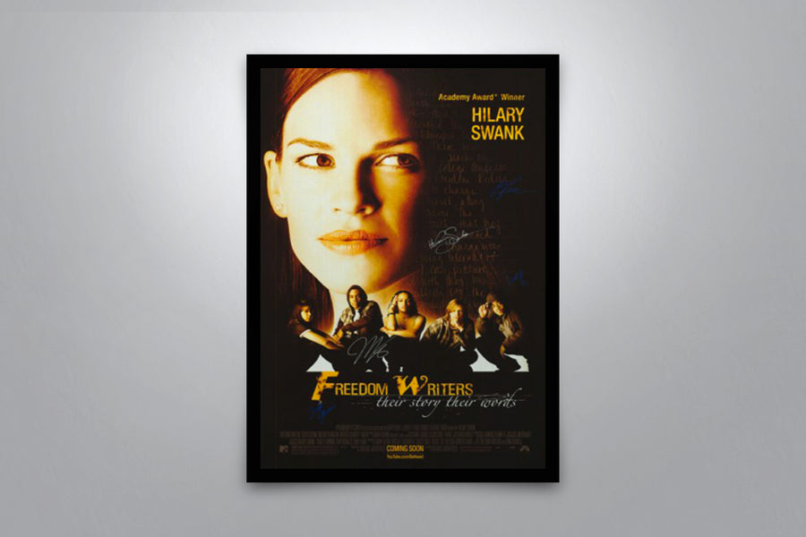 Freedom Writers - Signed Poster + COA