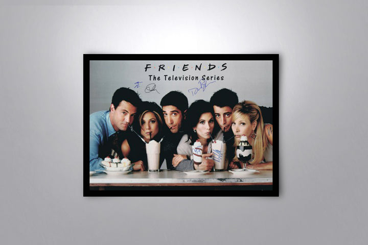 FRIENDS - Signed Poster + COA