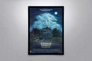 Fright Night - Signed Poster + COA