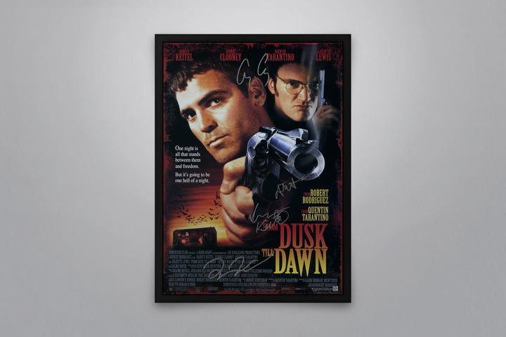 From Dusk Till Dawn - Signed Poster + COA