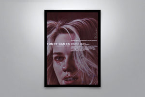 Funny Games - Signed Poster + COA