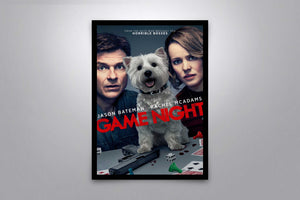 Game Night - Signed Poster + COA