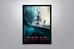 Geostorm - Signed Poster + COA