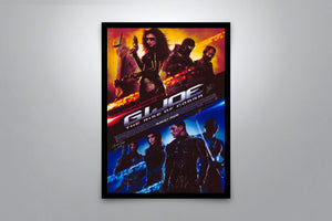 G.I. Joe: The Rise of Cobra - Signed Poster + COA