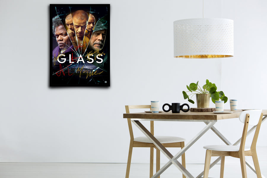 Glass - Signed Poster + COA