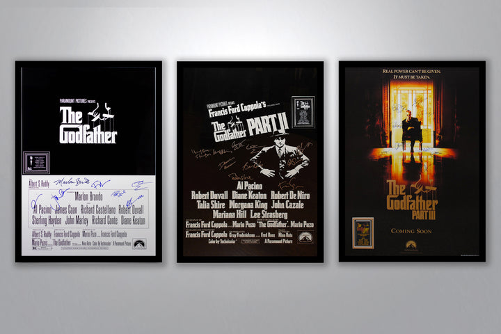 The Godfather Autographed Poster Collection