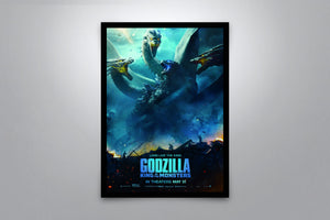 Godzilla: King of the Monsters - Signed Poster + COA