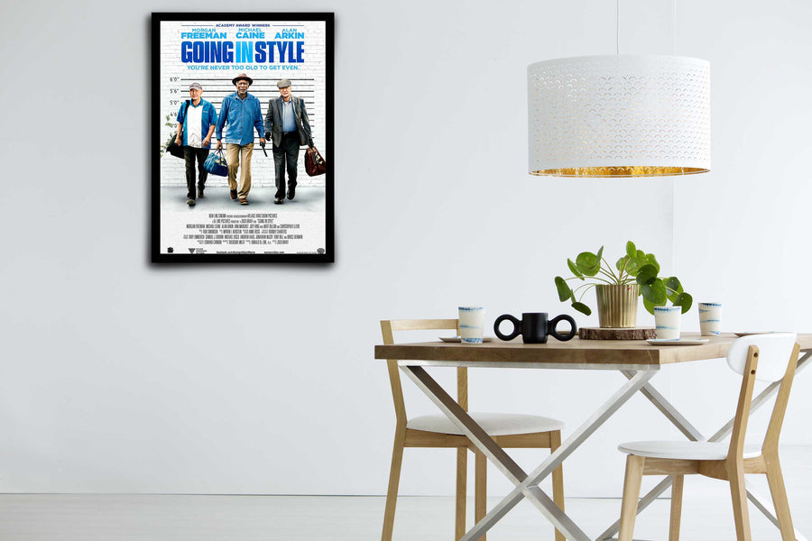 Going In Style - Signed Poster + COA