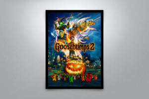 Goosebumps 2: Haunted Halloween - Signed Poster + COA