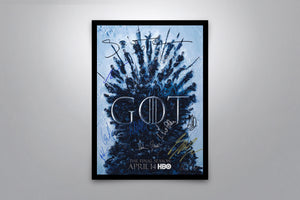 Game of Thrones - Signed Poster + COA