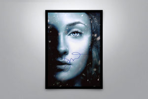 Game of Thrones: Sansa Stark - Signed Poster + COA