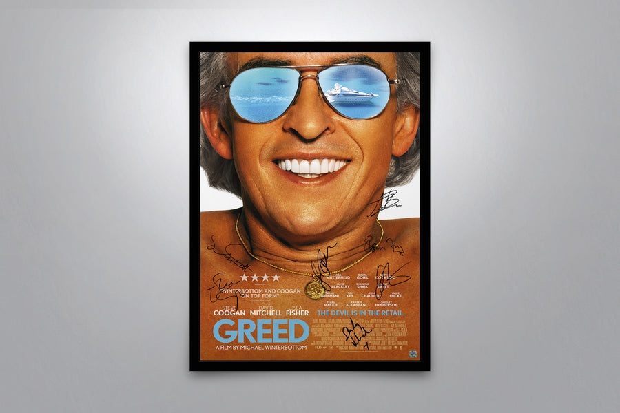 Greed - Signed Poster + COA