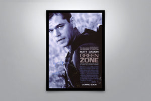 Green Zone - Signed Poster + COA