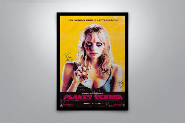 Planet Terror - Signed Poster + COA