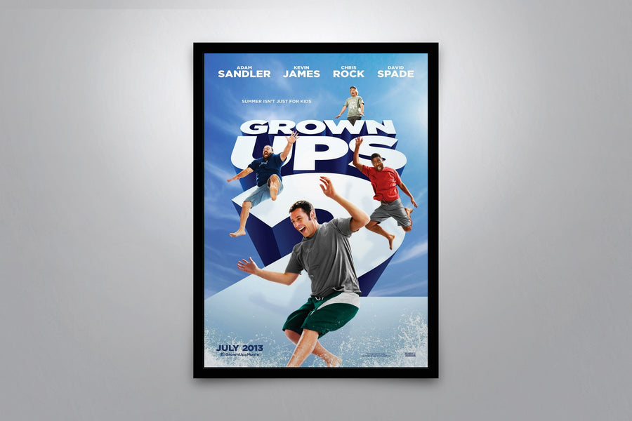 Grown Ups 2 - Signed Poster + COA