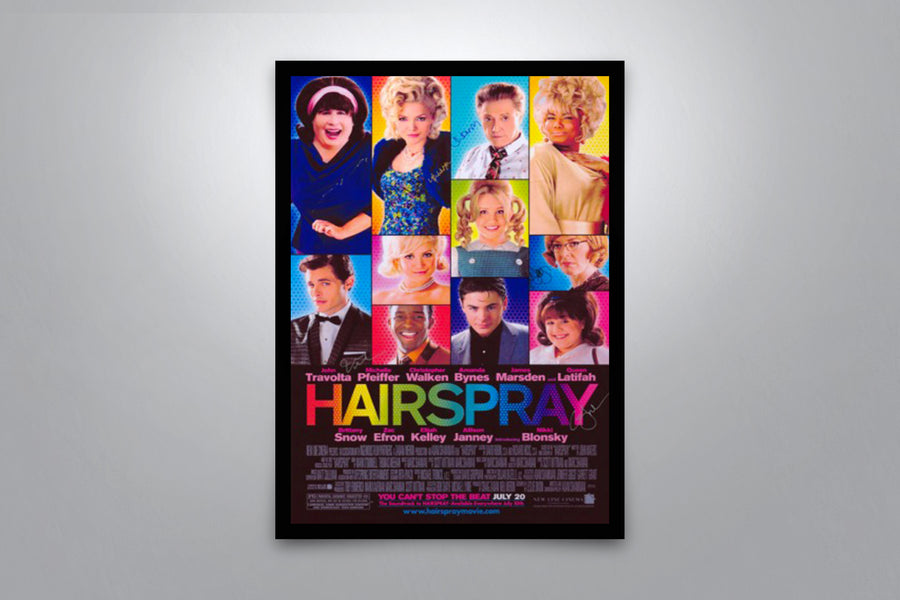 Hairspray - Signed Poster + COA