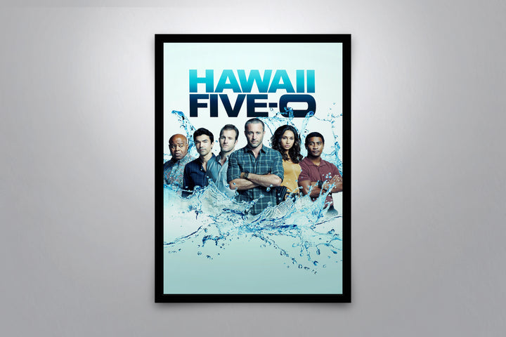 Hawaii Five-O - Signed Poster + COA