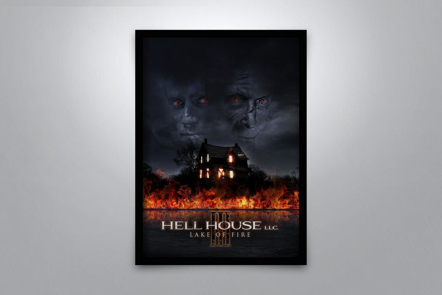 Hell House LLC III: Lake of Fire - Signed Poster + COA