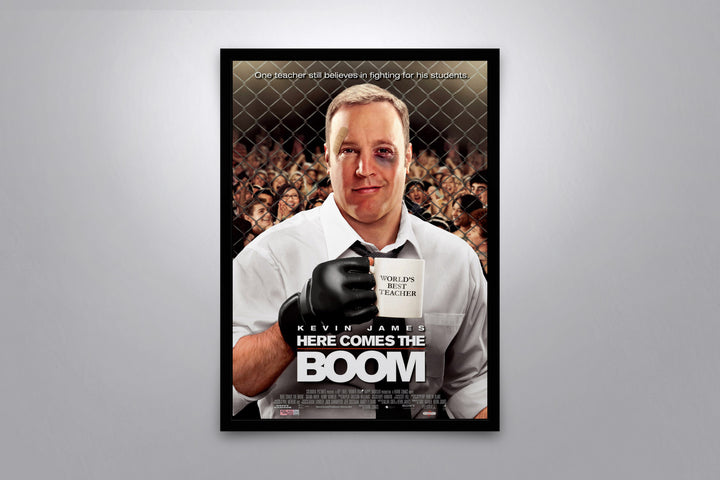 Here Comes the Boom - Signed Poster + COA