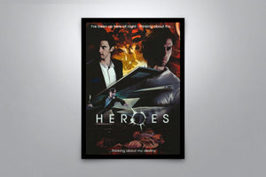 Heroes - Signed Poster + COA
