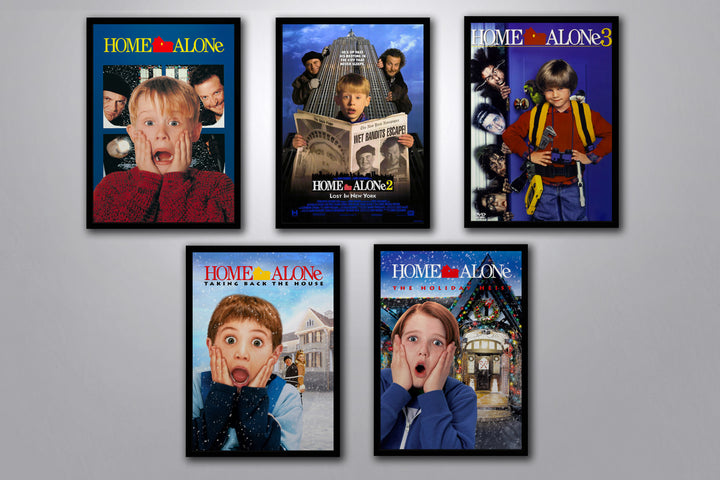 Home Alone Autographed Poster Collection
