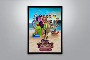 Hotel Transylvania 3: Summer Vacation - Signed Poster + COA