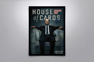 House of Cards - Signed Poster + COA