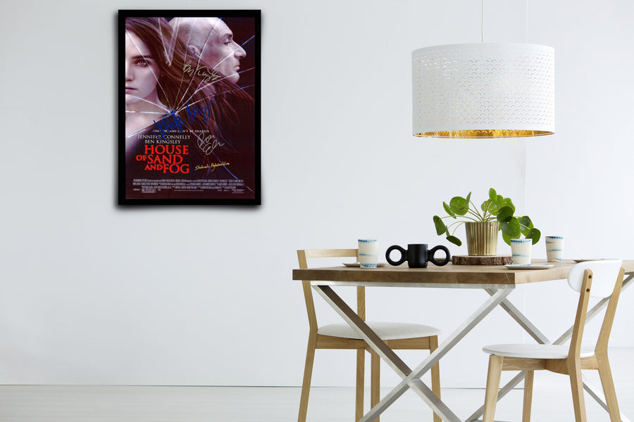 House of Sand and Fog - Signed Poster + COA