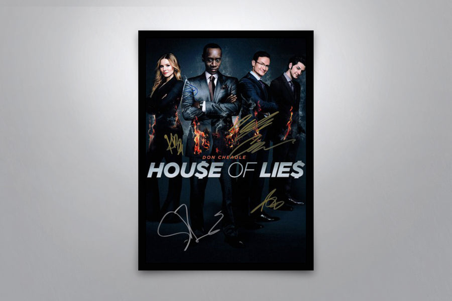 House of Lies - Signed Poster + COA