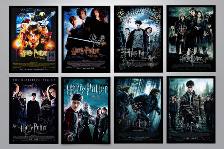 Harry Potter Autographed Poster Collection