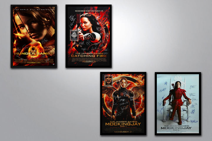 The Hunger Games Autographed Poster Collection