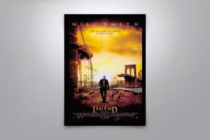 I Am Legend - Signed Poster + COA