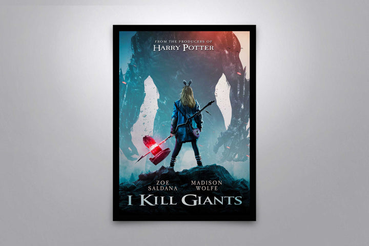 I Kill Giants - Signed Poster + COA