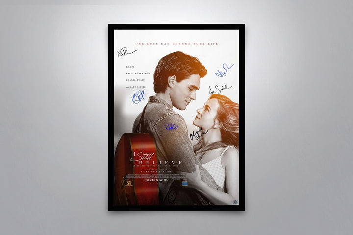 I Still Believe - Signed Poster + COA