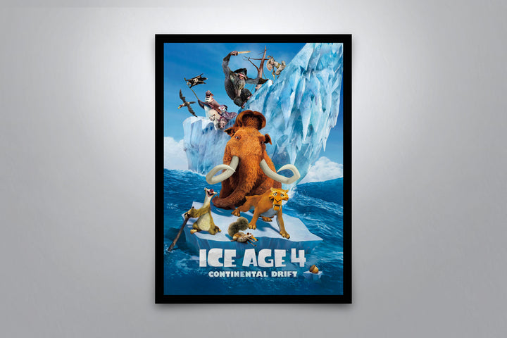 Ice Age 4: Continental Drift - Signed Poster + COA