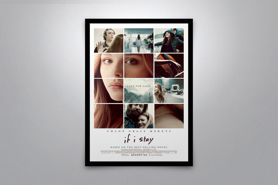 If I Stay - Signed Poster + COA