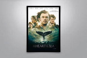 In the Heart of the Sea - Signed Poster + COA